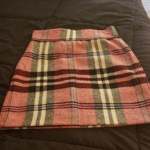 Topshop wool skirt